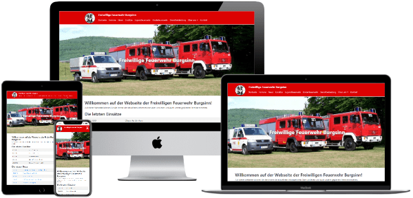 Bild der Webseite feuerwehr-burgsinn.de